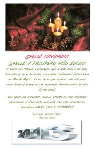 Saludo NAVIDEÑO 2013 - Amistades