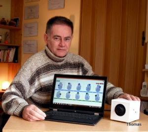 Tom trabajando con equipo BIO-WELL (3)