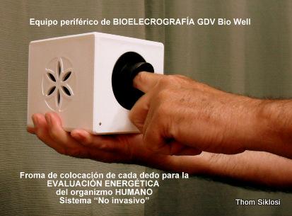 Dedos en Equipo GDV Bio Well  (1)