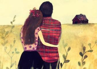 pareja-abrazada-mirando-al-horizonte