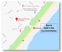 Mapa Los Acantilados 1