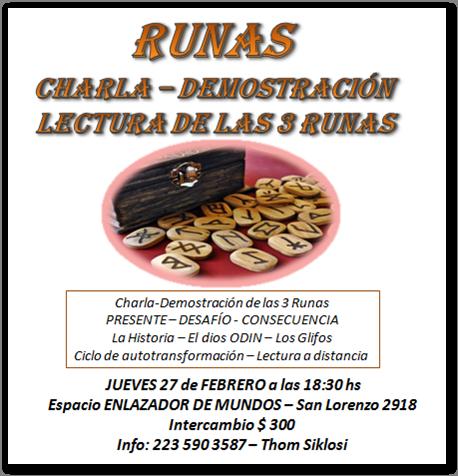 RUNAS 2 Charla